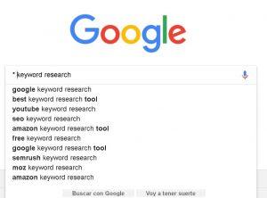 herramientas de palabras clave google truco