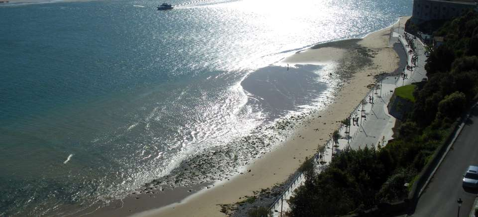 Playa de San martín en el pasaje | Que hacer en Santoña